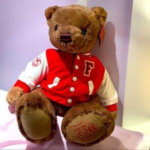 FAO SCHWARZ 2012❤️Varsity Teddy Bear